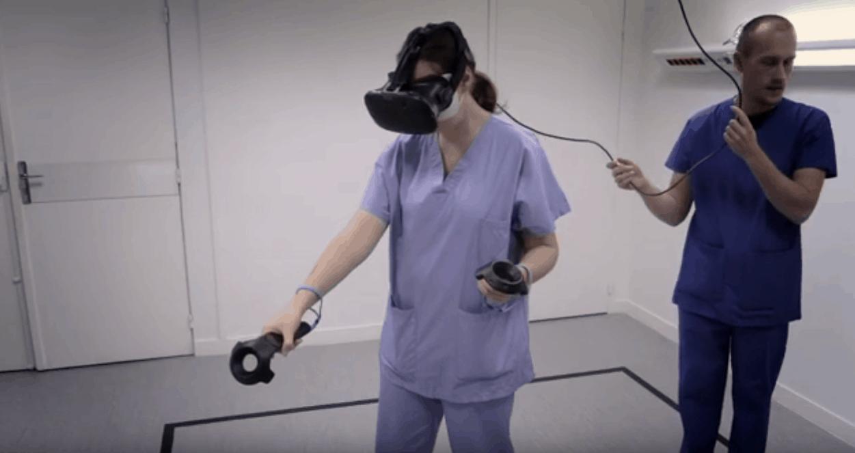 Réalité Virtuelle, formation des infirmières