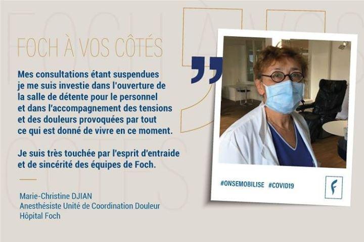 Marie-Christine.D, anesthésiste unité decoordination douleur