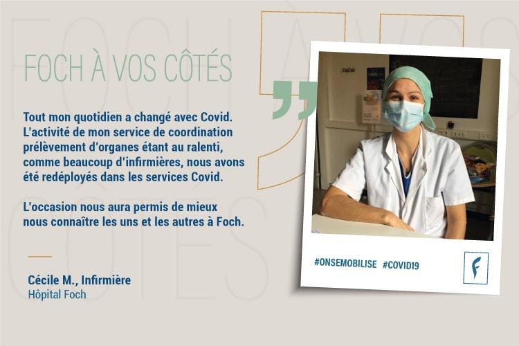 Cécile M. Infirmière