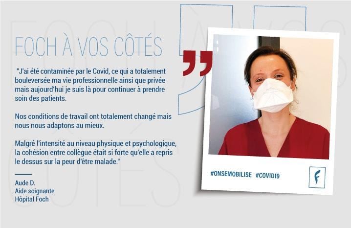 Aude D. Aide soignante