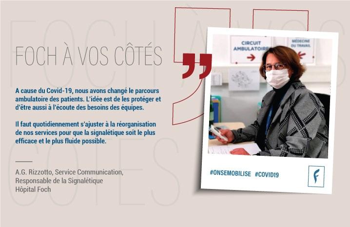 Anne-Gaëlle.R, service communication, responsable delasignalétique