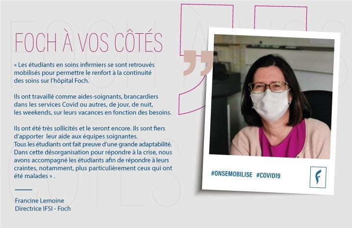 Francine L. Directrice IFSI